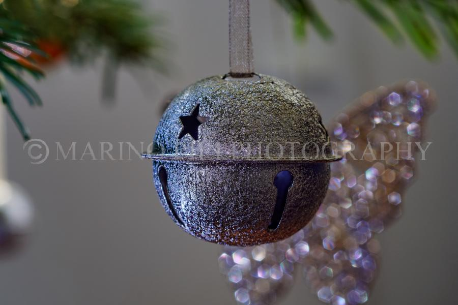 Christmas bell bauble